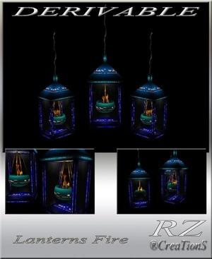 167. Lanterns Fire Decoration Mesh Furniture