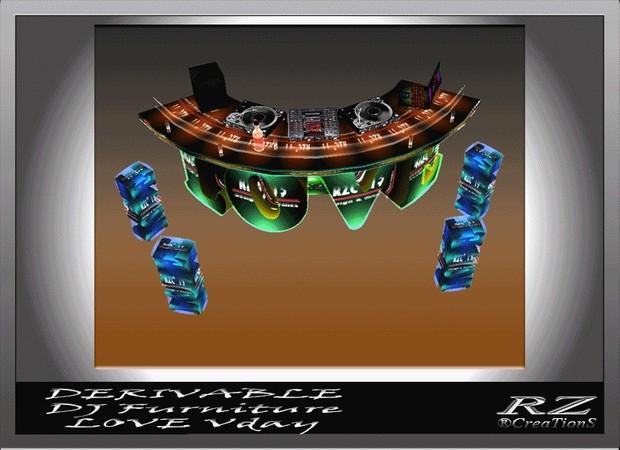 144. DJ console Love