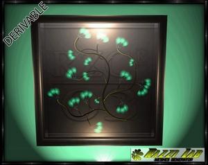 185. Deco Frame Leaf Mesh Furniture