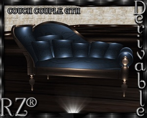 135. Couch Couple Gothic Mesh Furniture