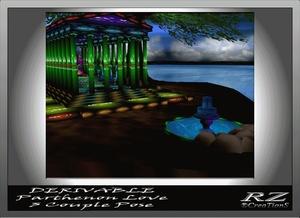 148. Parthenon Love house 3 Poses AP Mesh Room