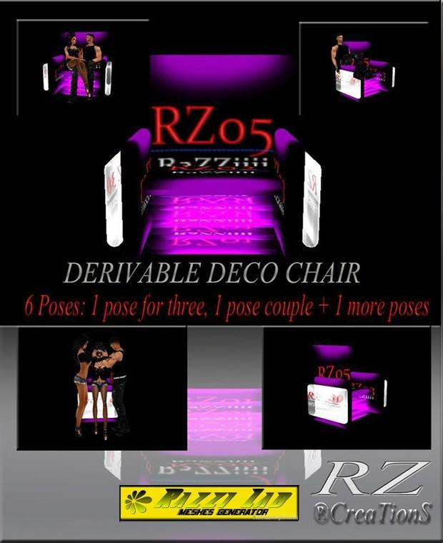 107. Decoration Chair Mesh Furniture
