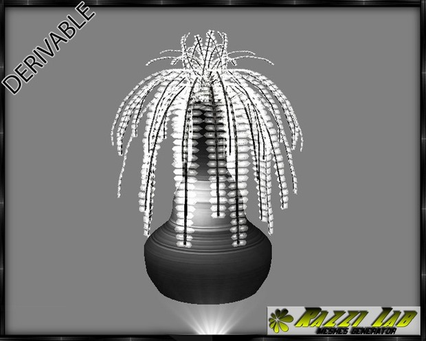 188. Plant Vase Deco Furniture Mesh