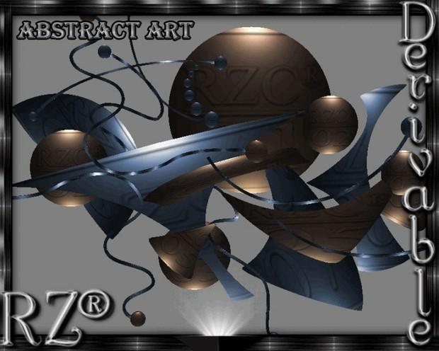 75. Abstract Art Mesh Furniture