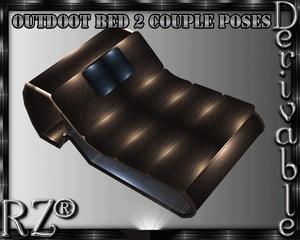 45. Bed Sea 4 Poses Mesh Furniture