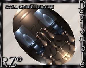 139. Wall Candelier Mesh Furniture