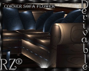 76. Corner Sofa FL Mesh Furniture