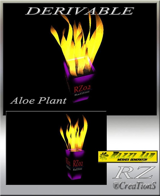 90. Aloe Plant Mesh Furniture