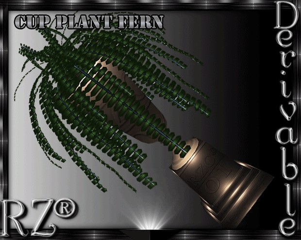 46. Cup Plant Fern Mesh Furniture