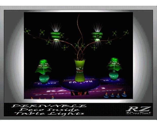 39. Decoration InsideTable Mesh Furniture