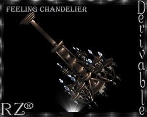 159. FL Chandelier Mesh Furniture