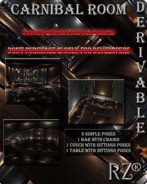 52. Carnibal Apartment Mesh Room