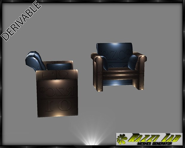 195. Practico ArmChair Furniture Mesh
