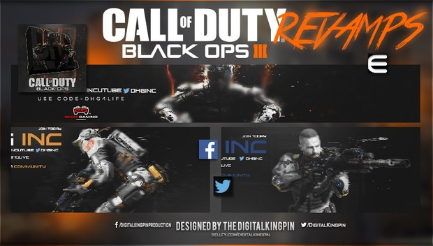 Call Of Duty Black Ops 3 Pic & Banner Pack