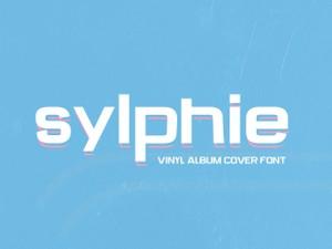 Sylphie: Vinyl Album Cover Font