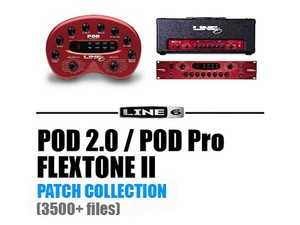 POD 2.0, POD PRO, Flextone II PATCH COLLECTION