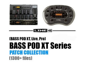 BASS POD XT Series Patch Collection