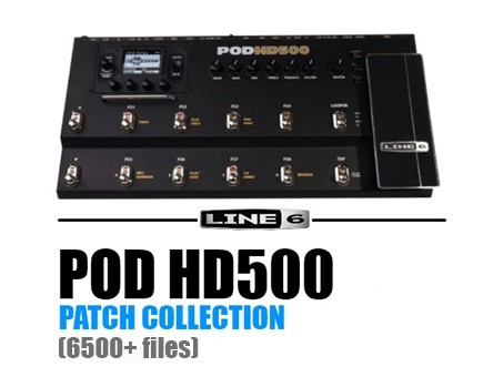 POD HD500 PATCH COLLECTION