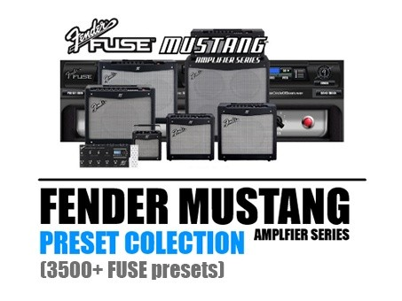 Fender Mustang Amplifier FUSE Presets Collection