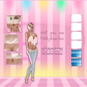 Ice Cream Product Page Mockup