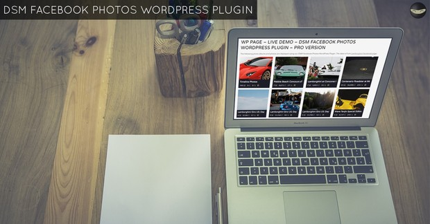 DSM Facebook Photos WordPress Plugin - PRO Version