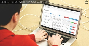 LEVEL 3 - AJAX CRUD Tutorial - Download Source Code