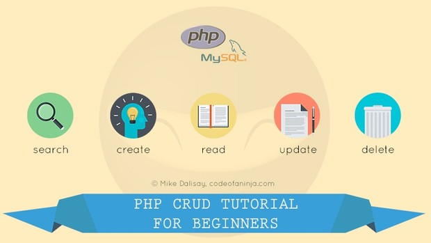 LEVEL 1 - PHP and MySQL CRUD Tutorial for Beginners