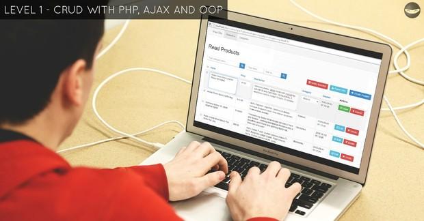LEVEL 1 - AJAX CRUD Tutorial - Source Code