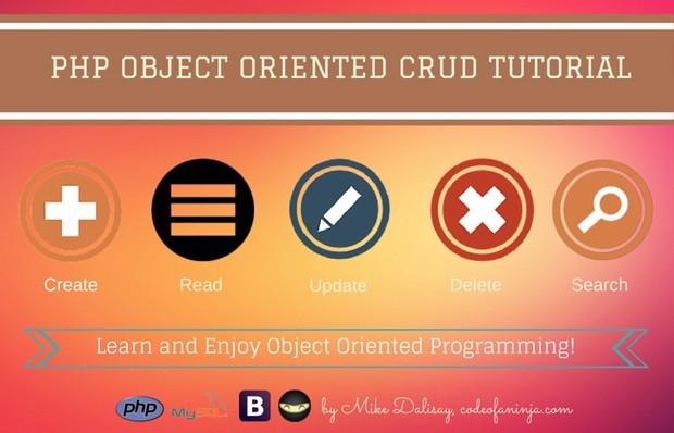 LEVEL 2 - PHP, MySQL and OOP CRUD Tutorial Source Code