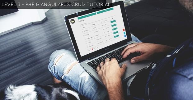 LEVEL 3 - AngularJS CRUD Tutorial
