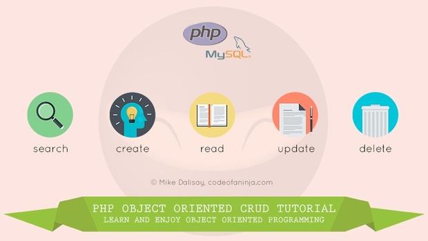 LEVEL 3 -  PHP, MySQL and OOP CRUD Tutorial Source Code