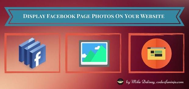 LEVEL 2 - Display Facebook PHOTOS on Website