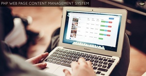 PHP Web Page Content Management System - Download Source Code