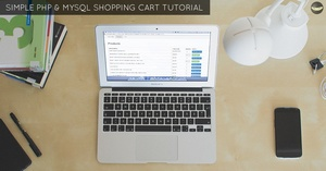 LEVEL 2 - PHP Shopping Cart Tutorial - Using MySQL Database To Store Cart Data
