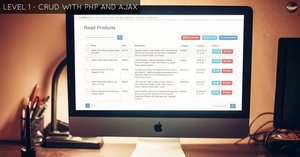 LEVEL 1 - CRUD with PHP and AJAX