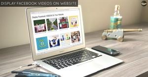 LEVEL 1 - Display Facebook VIDEOS on Website