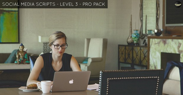 Social Media Scripts - LEVEL 3 - PRO PACK