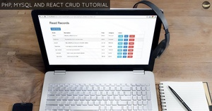 ALL LEVELS - React CRUD Tutorial & PHP Rest API Source Code