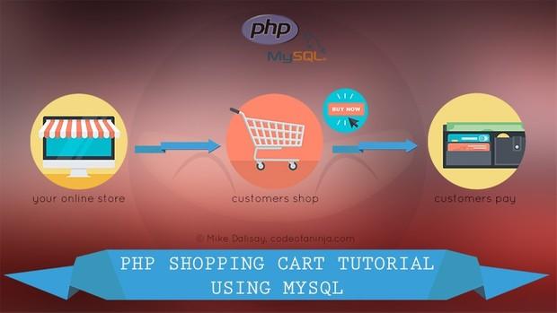 LEVEL 3 - Shopping Cart Tutorial using MySQL