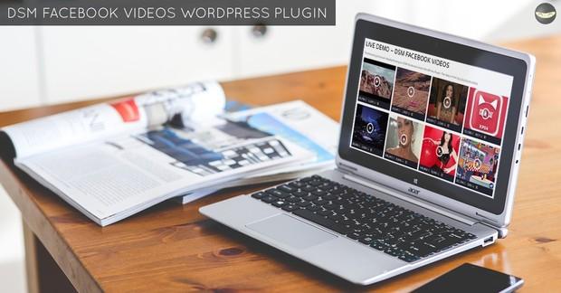 DSM Facebook Videos WordPress Plugin – PRO Version!