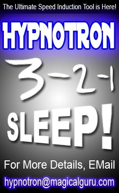 HYPNO-TRON - (The Hypnotists Secret Weapon for Speed Inductions)