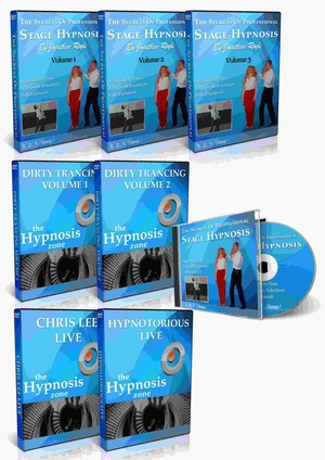 STAGE HYPNOSIS COURSE - Secrets of Professional Comedy Stage Hypnotism