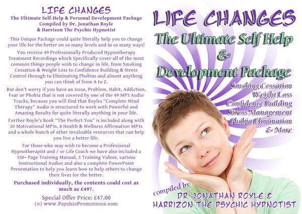 LIFE CHANGES - (Ultimate Self-Help & Personal Development Package)