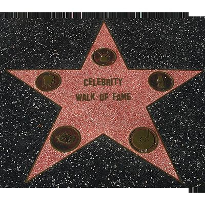 CELEBRITY WALK OF FAME MENTALISM CHAIR TEST