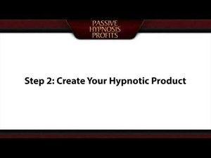 Passive Hypnosis Profits - (The Millionaire Hypnotists Strategy)