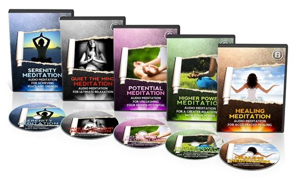 Meditation Mastery - 5 Powerful Audio Meditation Sessions