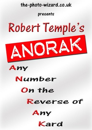 ANORAK - Any Number on Reverse of Any Kard