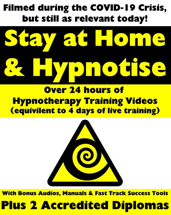 STAY AT HOME & HYPNOTIZE - HOW TO BECOME A MASTER HYPNOTIST WITH EASE