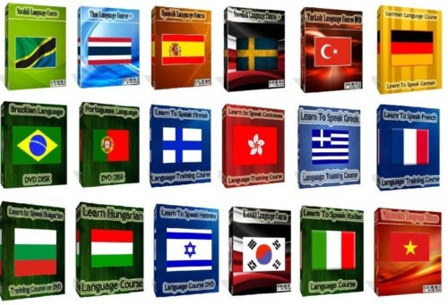 HYPNOTIC FOREIGN LANGUAGE COURSES - (Learn 22 Languages Made Easier With Hypnosis)