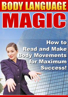 Check out SOME of the information you will find inside this amazing Body Language Book